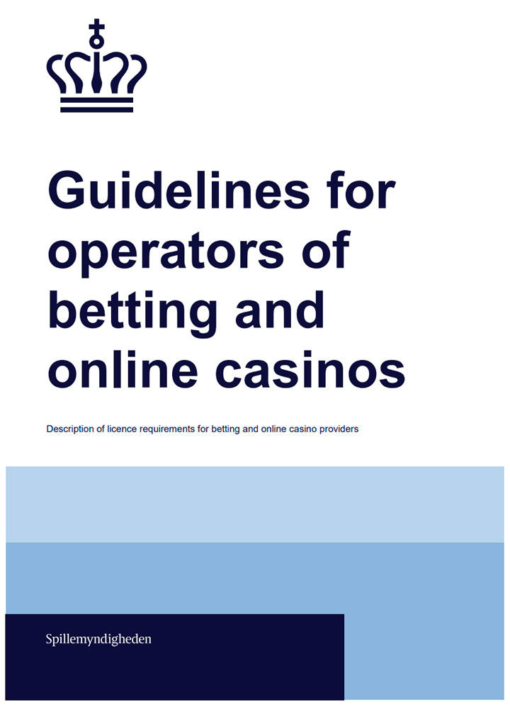 Guidelines for operators of betting and online casinos